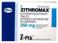 Zithromax. Azithromycin